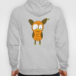 Lovely and funny looking owl Hoody