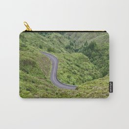 Sao Miguel, Azores road Carry-All Pouch