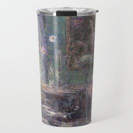 Improvisation by Childe Hassam Travel Mug