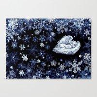 holiday Canvas Prints featuring Holiday by Ivanushka Tzepesh