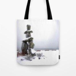Inukshuk, Vancouver Tote Bag