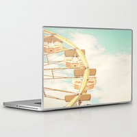 ferris wheel Laptop & iPad Skins featuring Ferris Wheel by Sweet Moments Captured