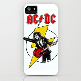 Angus Young AC/DC iPhone Case
