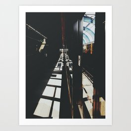 West Rail (Hong Kong) Art Print