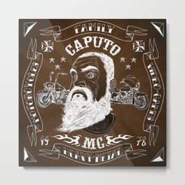 Caputo MC Metal Print