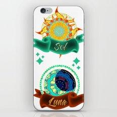 Sun & Moon iPhone & iPod Skin