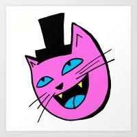 Herro Cat Art Print