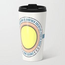 Junk Science Power Grab Travel Mug