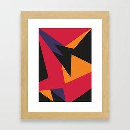VII Raptors Framed Art Print