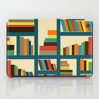 library iPad Cases featuring library by vitamin