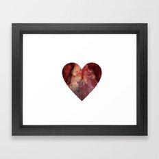 Heart Love Framed Art Print
