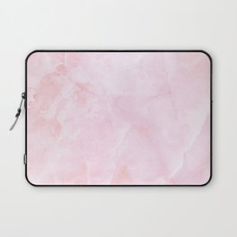 Sugar Pink Marble Laptop Sleeve