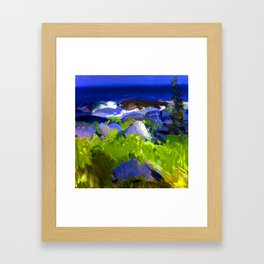 George Bellows Monhegan Island Framed Art Print