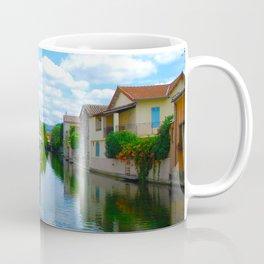 L'Isle-sur-la-Sorgue France River Cafe Coffee Mug