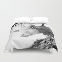 cow Duvet Covers featuring COW by Julia Aufschnaiter