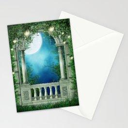 Summer Night Balcony Stationery Cards