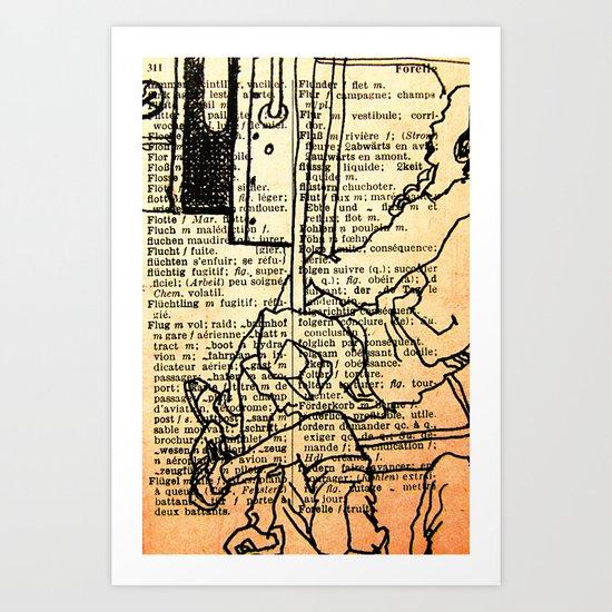 Bus series - 1 Art Print