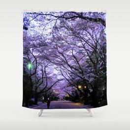 Sakura Walk Shower Curtain