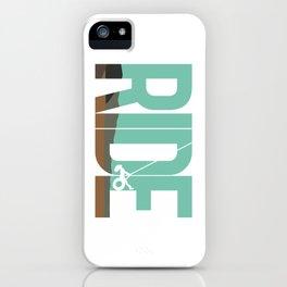 Ride LDR iPhone Case