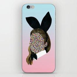 Bunny Girl iPhone Skin