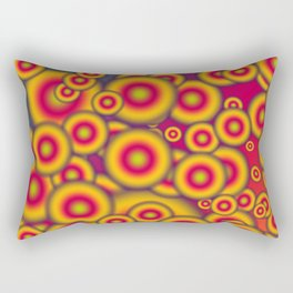 Jelly donuts invasion Rectangular Pillow