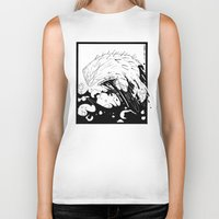 moby dick Biker Tanks featuring Moby Dick by JoJo Seames