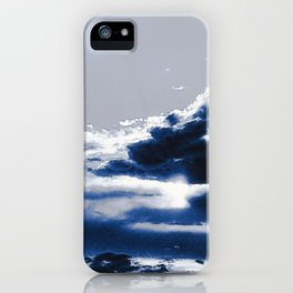 arctic blue landscape iPhone Case