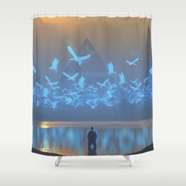 Daze Shower Curtain