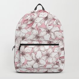 Chery blossom Backpack