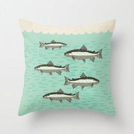 Schubert - Trout Quintet, D. 667 Throw Pillow