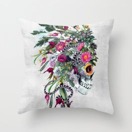 Momento Mori Chief Throw Pillow