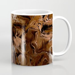 Pioneers Crossed The Harsh stoney and sandy of the desert of California Coffee Mug