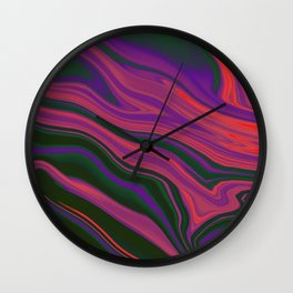 MELTED Wall Clock