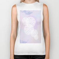 water color Biker Tanks featuring Water Color by AngelicaRoesler
