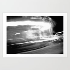 {Speed Of Light II} Art Print