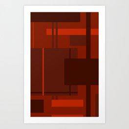 Modern Fall Art Print