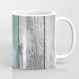 Old wood vintage background Coffee Mug