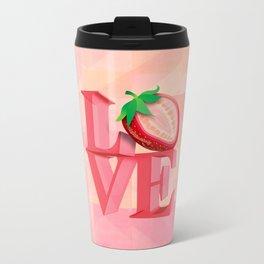 I LOVE STRAWBERRY Travel Mug