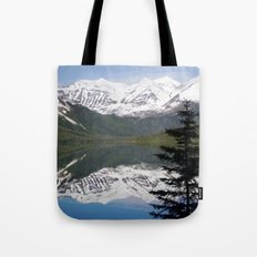 Mountain Reflection with Lone Pine Tote Bag