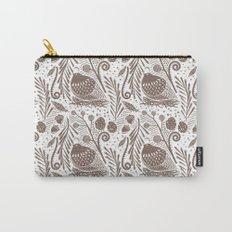 California Quail (Cocoa) Carry-All Pouch