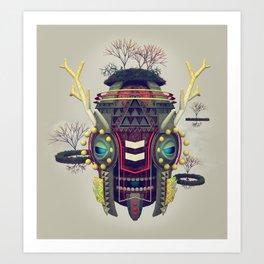 Earth Deity Art Print