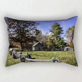 Fenced In Beauty in Virginia Rectangular Pillow