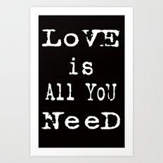 love cards Art Print