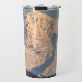 Twilight Over Mount Hood Travel Mug