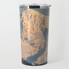 Twilight Over Mount Hood Travel Mug