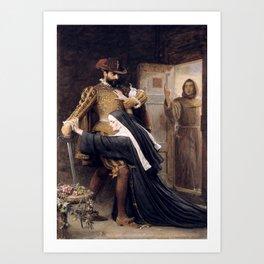 Sir John Everett Millais, Bt Mercy St Bartholomew's Day, 1572 1886 Art Print