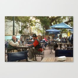 Hanging out in San Telmo, Buenos Aires Canvas Print