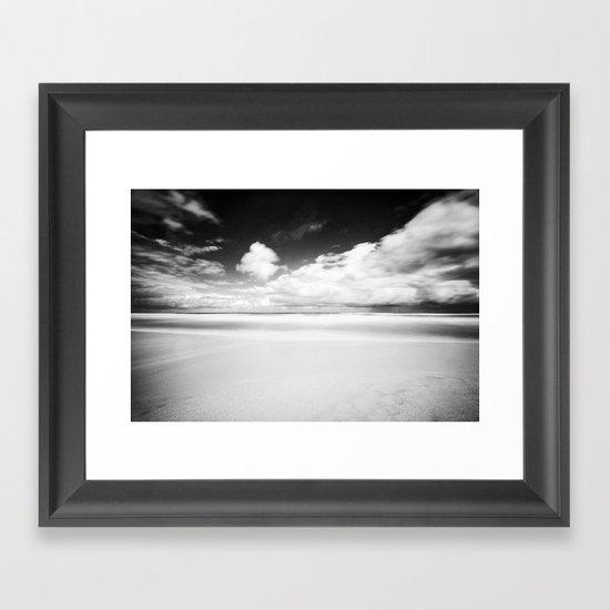 Long Exposure Seascape Framed Art Print