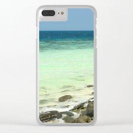Banana beach, Koh Hey island, Thailand Clear iPhone Case