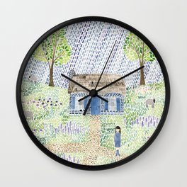 Mistress Mary Quite Contrary Wall Clock